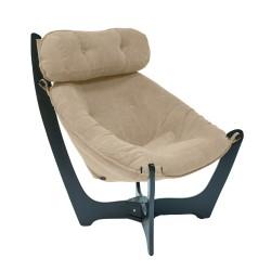 Кресло для отдыха МИ Модель 11 венге (Венге, ткань Verona Vanilla)