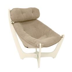 Кресло для отдыха модель 11, Verona Vanilla, дуб шампань