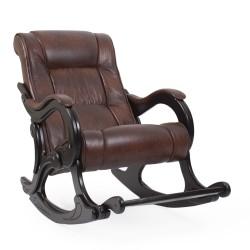 Кресло-качалка МИ Модель 77 венге (Венге, к/з Antik crocodile)