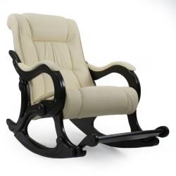 Кресло-качалка МИ Модель 77 венге (Венге, к/з Dundi 112)