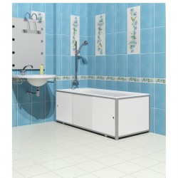 Экран для ванны МетаКам 1,48м белый