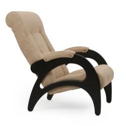 Кресло для отдыха МИ Модель 41 венге б/л (Венге б/л, ткань Malta 03 А)