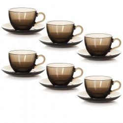 Набор чайный 215мл на 6 персон БРОУНЗ