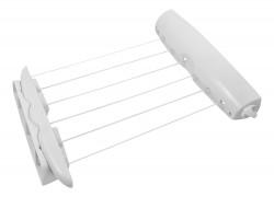 Сушилка для белья CD-2021 настенная, выдвижная, пластик