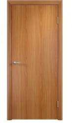 Полотно дверное глухое 60x200см, ламинация, цвет миланский орех