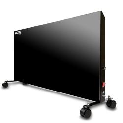 Панель электронагревательная СТН черная 300Вт с мех. терморегулятором (колесики)