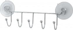 Вешалка 5 крючков ELINE-WH-1