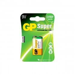 Батарейка крона GP Super Alkaline 9V, 1шт