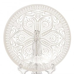Тарелка из закаленного стекла 195мм Pasabahce БОХО 10327SLBD44