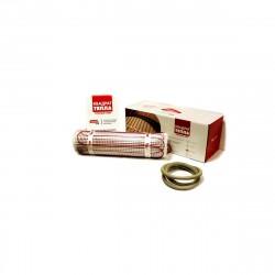 Теплый пол нагревательный мат 4,5кв.м (9,0*0,5м) кабельный, 675Вт, КМ-675-4,5, Квадрат Тепла