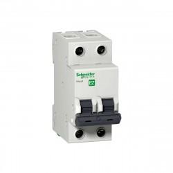 Выключатель автомат. 2р 25A (C) Schneider Electric EASY 9, SE EZ9F34225