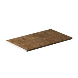 Столешница 28 мм 1000х600 (Аламбра темная)