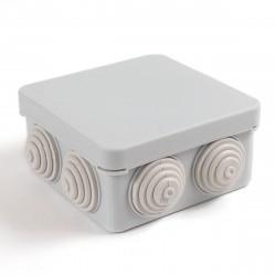 Коробка распределительная 40-0215 для открытой установки безгалогенная (HF) атмосферостойкая  80х80х