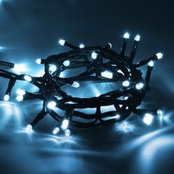 Электрогирлянда Нить 50 холодных LED ламп длина 5м, 220 v 55060
