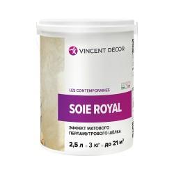 Покрытие Vincent Decor Soie Royal декоративное 2,5л