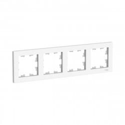 Рамка 4-я, SE AtlasDesign универсальная белый ATN000104