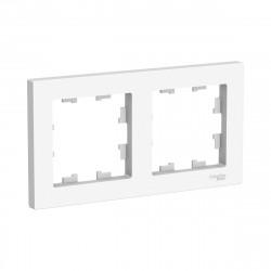Рамка 2-я, SE AtlasDesign универсальная белый ATN000102