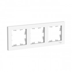 Рамка 3-я, SE AtlasDesign универсальная белый ATN000103