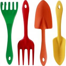 Набор садовых мини инструментов, 4 предмета Brigadier 81016