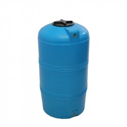 Емкость 250л вертикальная V-250 синяя d-600, h-700мм