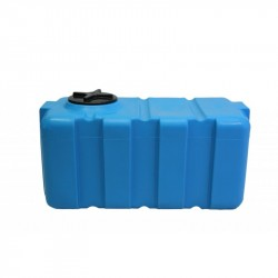 Емкость 200л прямоугольная SK-200 белая/синяя 785*610*558мм