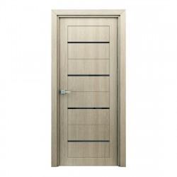 Полотно дверное Остекленное Орион,3D Финиш-пленка 2000х600мм,капучино