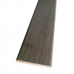 Наличник плоский 2150х70х8мм, дуб серый