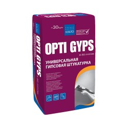 Штукатурка гипсовая универсальная Kiilto Opti Gyps, 30 кг