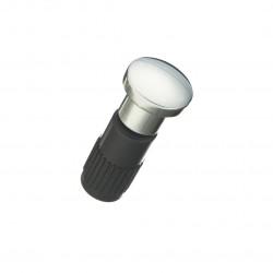 Заглушка для рейлинга Модерн хром RAT-16