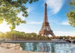Фотообои Набережная в Париже Х 5 Премиум 272*194см /8 листов/