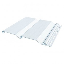 Сайдинг FineBer, цвет белый, 3.66 м