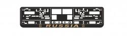 Рамка номерного знака AVS Russia золото RN-09 A78112S