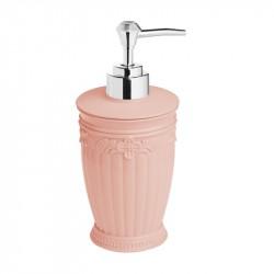 Дозатор для жидкого мыла настольный Elegance, розовый