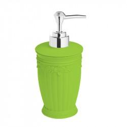 Дозатор для жидкого мыла настольный Elegance, зелёный