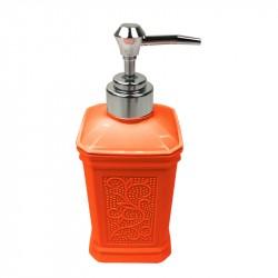 Дозатор для жидкого мыла настольный London, оранжевый