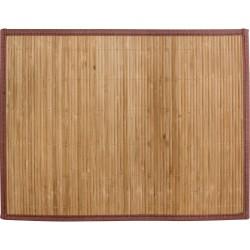 Салфетка сервировочная 39*30см Рыжий кот цв.коричневый бамбук 312348
