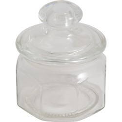 Банка 300мл для сыпучих продуктов Lattina Mallony с фигурной стклянной крышкой 004467