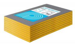 Порилекс Евроблок НПЭ Л звукоизоляция стен, цвет желто-серый, размер листа 20 х 600 х 1000 мм