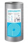 Пенотерм НПП ЛЭ-Э виброшумоизоляция под стяжку, цвет серый, толщина 6 мм, 1,3 х 50 м (65м2, 1 рулон)
