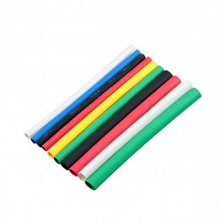Набор термоусаживаемых трубок 2/1 (7 цветов по 3шт, 10cм) SBE-HST-2