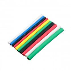 Набор термоусаживаемых трубок 8/4 (7 цветов по 3шт, 10см) SBE-HST-8
