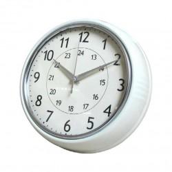 Часы настенные круглые Artlink Wall Clock Cr.White 24x24см 79778