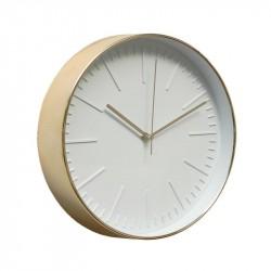 Часы настенные круглые Artlink Clock brass 30,6x30,6см 79848
