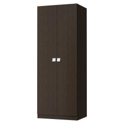 Шкаф распашной Стокгольм 800х580х2120 (Венге темный)