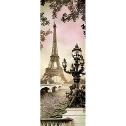 Фотообои Парижский этюд X5 Премиум 97*272м /4 листа/