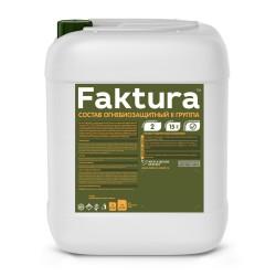 Состав FAKTURA огнебиозащитный II группа, 10 л