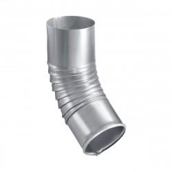 Колено стока оцинкованное, d-100 мм