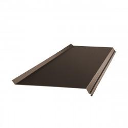 Отлив, цвет шоколадно-коричневый RAL 8017, 2000 х 200 мм