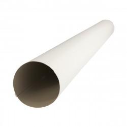 Труба водосточная, цвет сигнально-белый RAL 9003, d-100 х 3 м