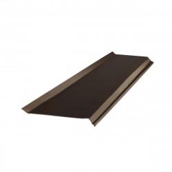 Отлив, цвет шоколадно-коричневый RAL 8017, 2000 х 150 мм